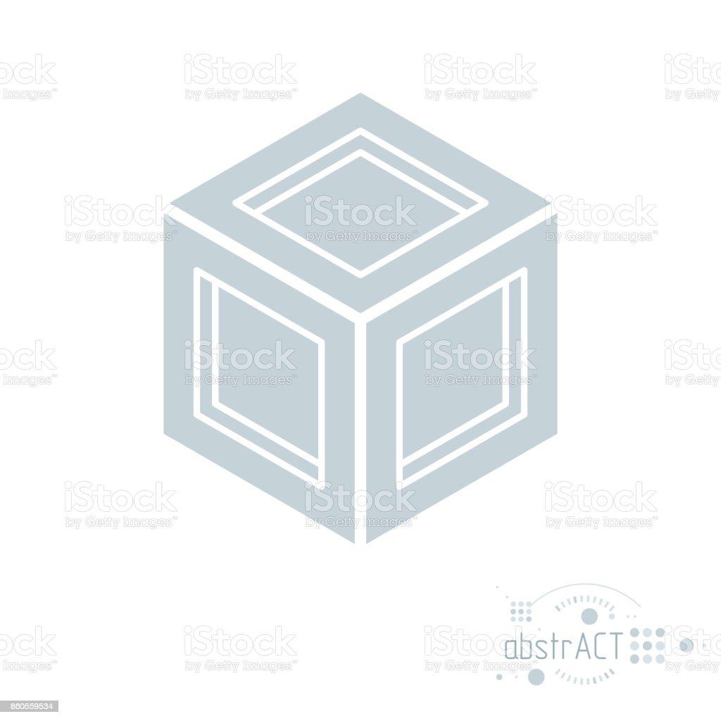 Ilustración de Vectores Modernos Artístico Gráfico Composición ...