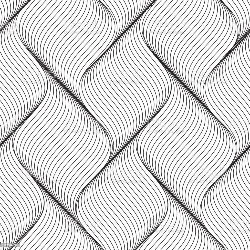 Vector modern stylish pattern vector art illustration