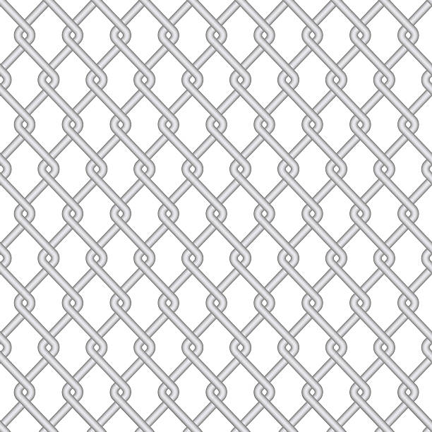 Royalty Free Barbed Wire Fence Backgrounds Clip Art, Vector Images ...