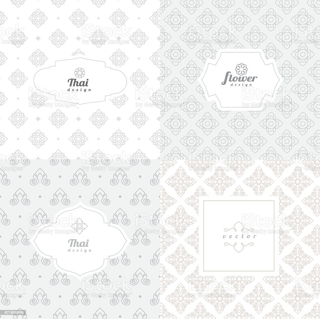 Vector mono line graphic design templates - labels and badges vector art illustration
