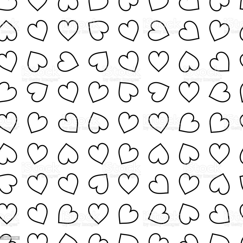 Vector Monochrome Background Template For Adult Coloring Book ...