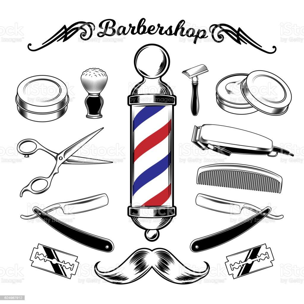 royalty free barber shop clip art vector images illustrations rh istockphoto com barber shop pole clipart barber shop clipart black and white