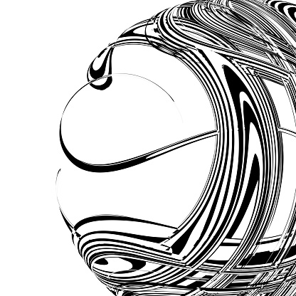 Vector Monochrome dynamic flowing technology sphere pattern,Abstract Backgrounds