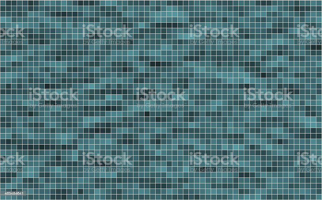 Vector mosaic background textured vector art illustration