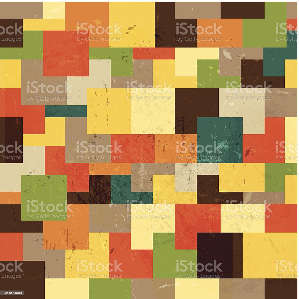 Vector mosaic background royalty-free stock vector art