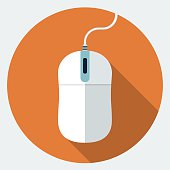 Vector mouse icon
