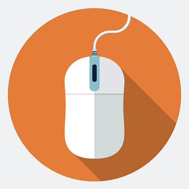 vector mouse icon - mouse stock illustrations