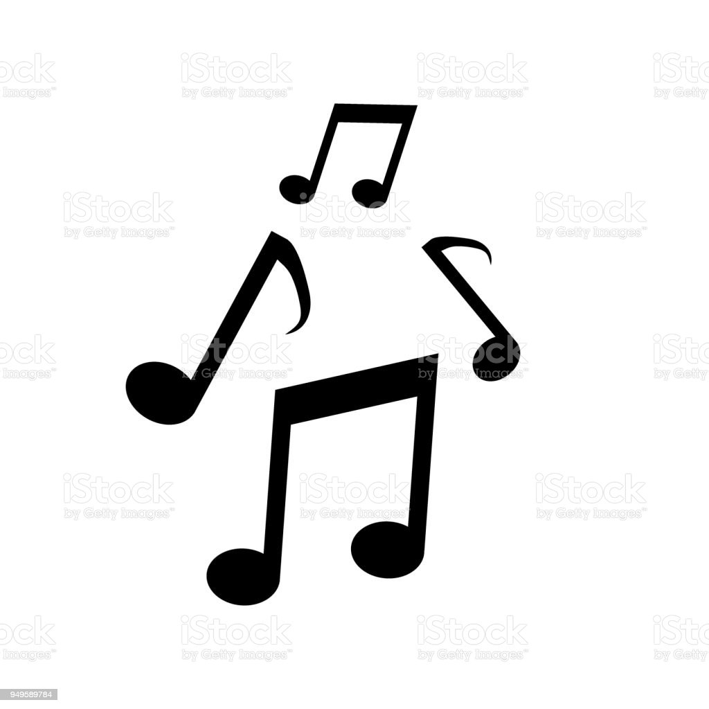 vector music icon note stock vector art more images of rh istockphoto com vector musical notes vector music note