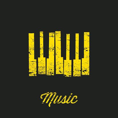 Vector Music keyboard.