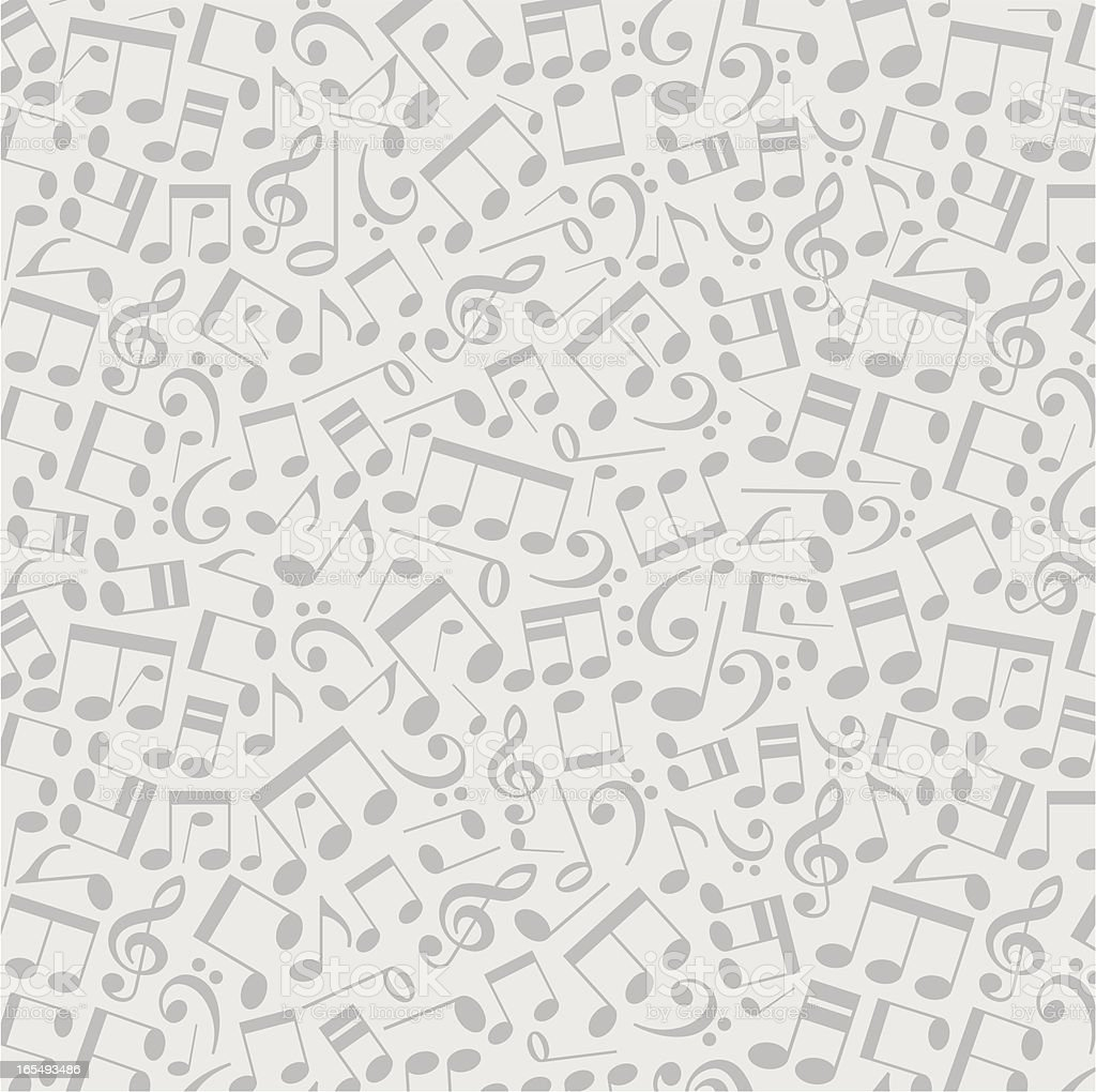 vector musical background from notes royalty-free stock vector art