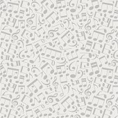 background of the musical notes.concept of musical creativity