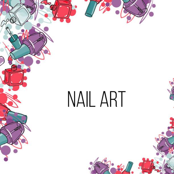 Nail Art Vector: Royalty Free Pedicure Clip Art, Vector Images