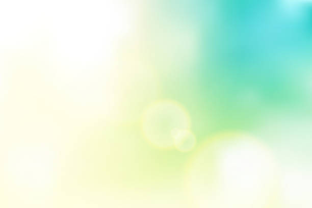 vector natural pastel color vector beautiful natural style of life. sunrise glitter lens flare, soft bokeh nature background, illustration light pastel sweet color filter abstract simplicity for advertising products background use mash tool and gradient blur background stock illustrations
