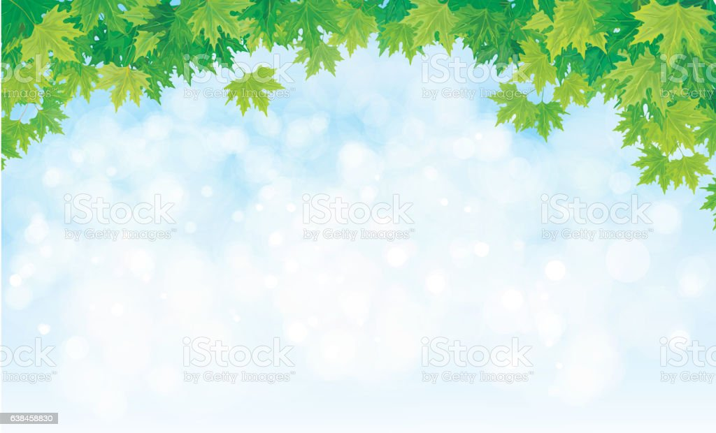 Vector Nature Background Stock Illustration Download Image Now Istock