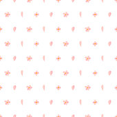 Vector nature seamless pattern with cherry pink petal and bloom. Floral backdrop. Textile ornament.