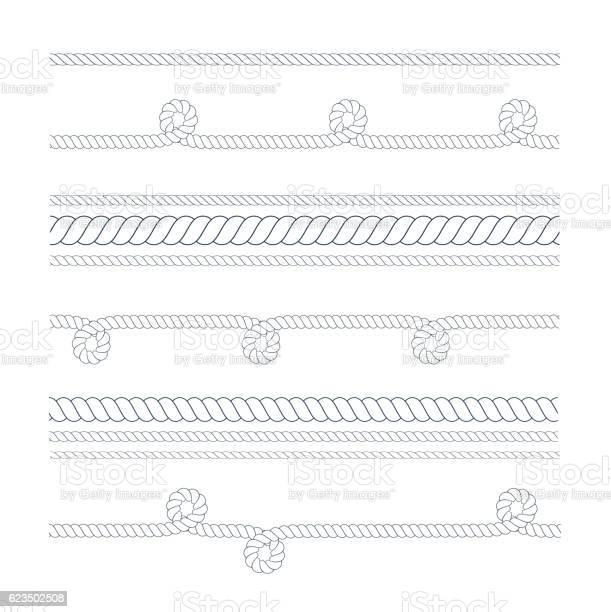 Rope Brush Free Vector Art - (23 Free Downloads)