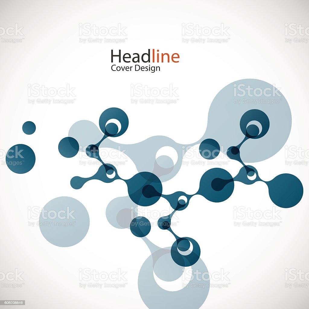 Vektor-Netzwerk-Hintergrund – Vektorgrafik