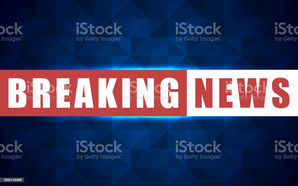 Vector News Background Breaking News Breaking News Modern