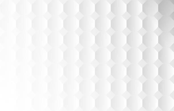 stockillustraties, clipart, cartoons en iconen met vector achthoek witte achtergrond - achthoek