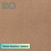 A vector of a cardboard texture background