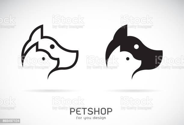 Vector of a dog and cat design on white background petshop animal vector id893497124?b=1&k=6&m=893497124&s=612x612&h=x9kyw7wpx5jiueuqa0b1a 38mfpvj5q67rnwcqz8k7k=
