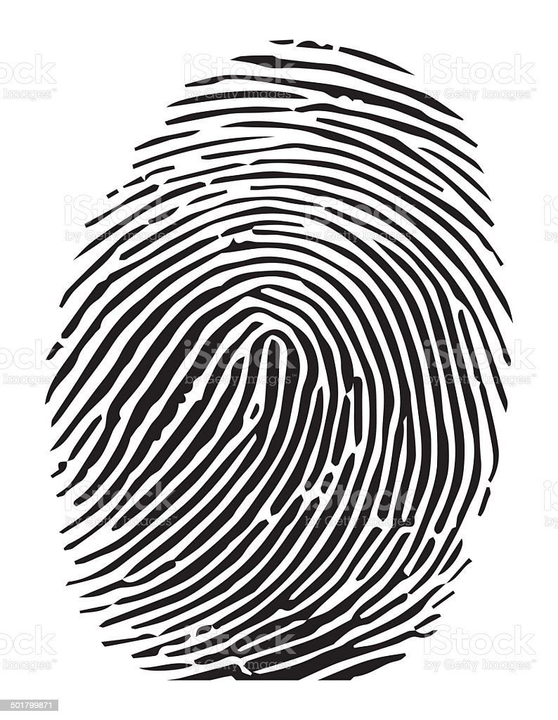 royalty free fingerprint clip art vector images illustrations rh istockphoto com fingerprint tree clip art fingerprint clipart images