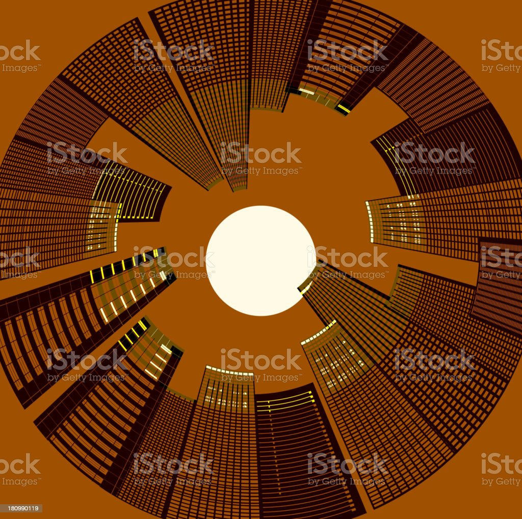 vector of abstract city pattern royalty-free stock vector art