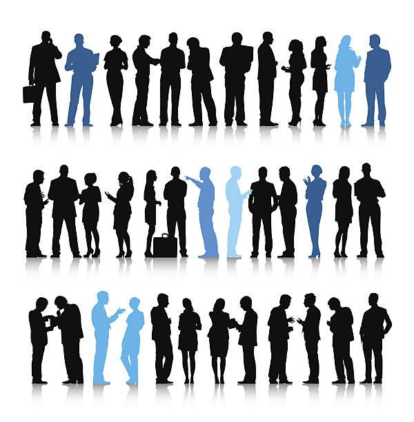 ilustrações, clipart, desenhos animados e ícones de vetor de ativo pessoas de negócios - ceo