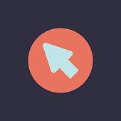Vector of arrow cursor