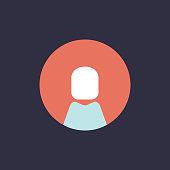 Vector of avatar icon