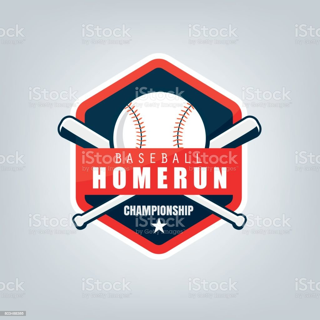 Vector of Baseball sport team  design vector art illustration
