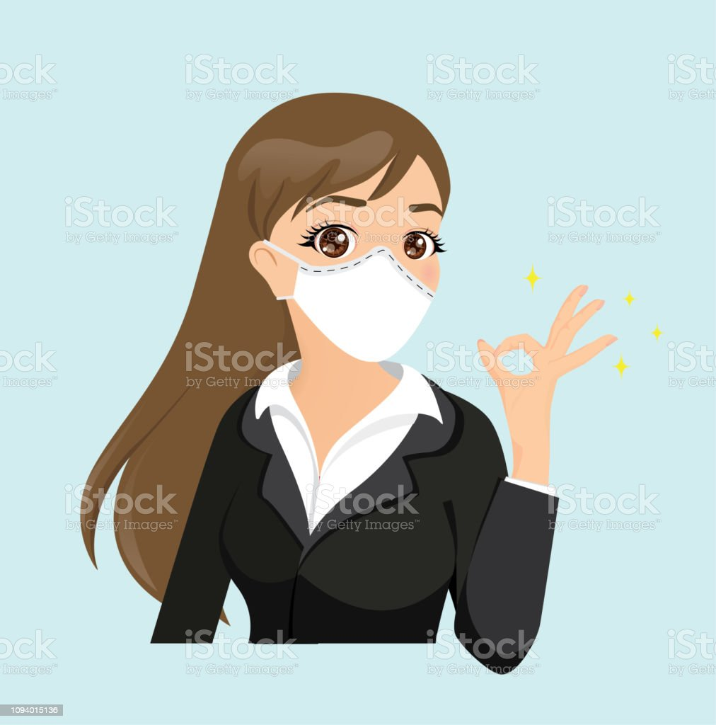 virus flu mask
