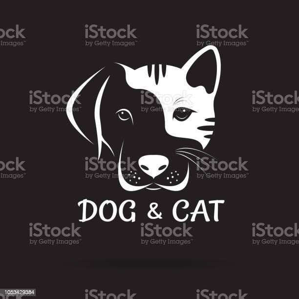 Vector of dog and cat face design on a black background pet animal vector id1053429384?b=1&k=6&m=1053429384&s=612x612&h=v1mi6q8mjjtxnbklagfna4zews6uhrwpdlhkq0hzl3w=