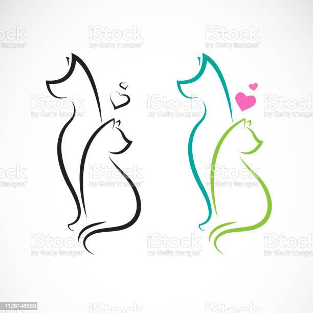 Vector of dog and cat on a white background pet animals easy editable vector id1128148860?b=1&k=6&m=1128148860&s=612x612&h=xnya010km0y9xecbir z0zlqdqzk5xbkpdpboy4ystw=