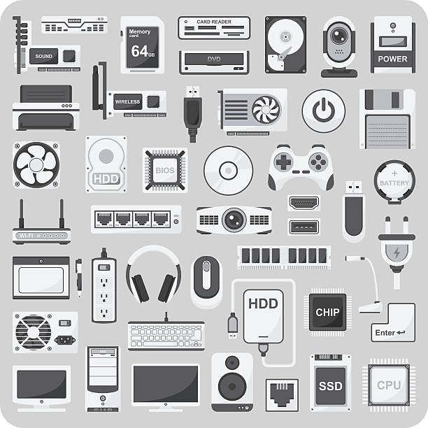 Royalty Free Input Device Clip Art, Vector Images ...