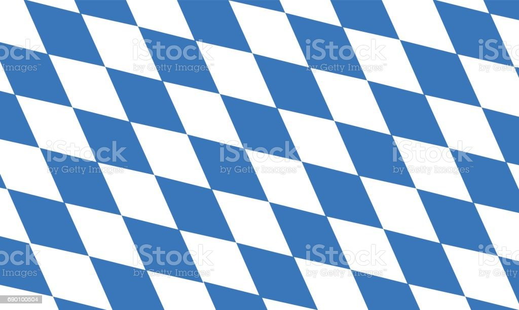 vector of free state of bavaria flag – Vektorgrafik