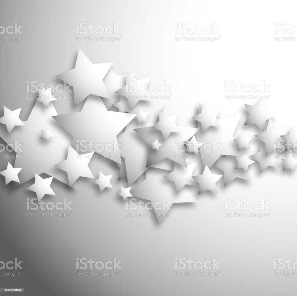 vector of gray star pattern background royalty-free stock vector art