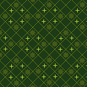 vector of green abstract pattern