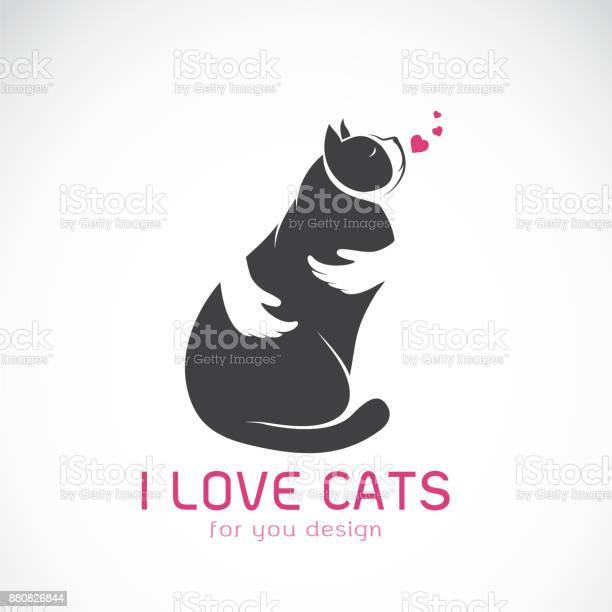 Vector of human hand that hugs the cat on white background pet animal vector id880826844?b=1&k=6&m=880826844&s=612x612&h=h2yx5i1j05dku81rgso61vcfqcnsrn8assubui jbou=