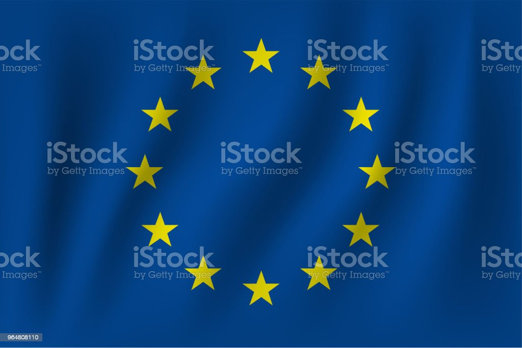 vector of ripple european euro flag royalty-free vector of ripple european euro flag stock vector art & more images of circle