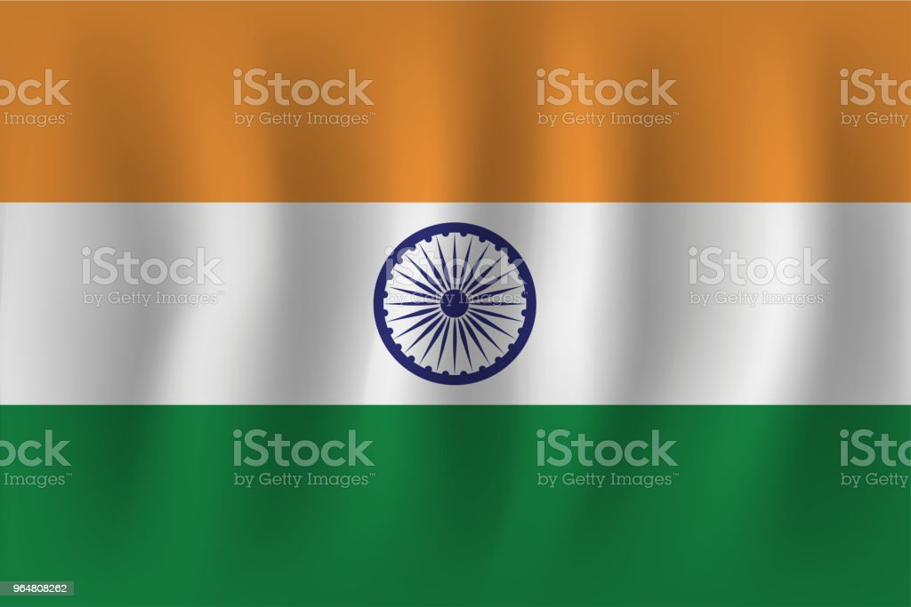 vector of ripple india flag royalty-free vector of ripple india flag stock vector art & more images of curve