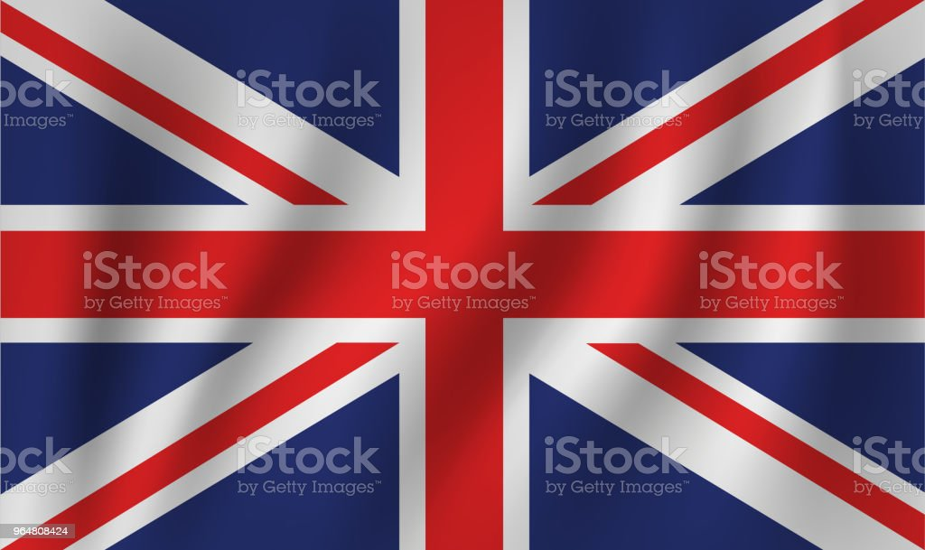 vector of ripple uk flag royalty-free vector of ripple uk flag stock illustration - download image now