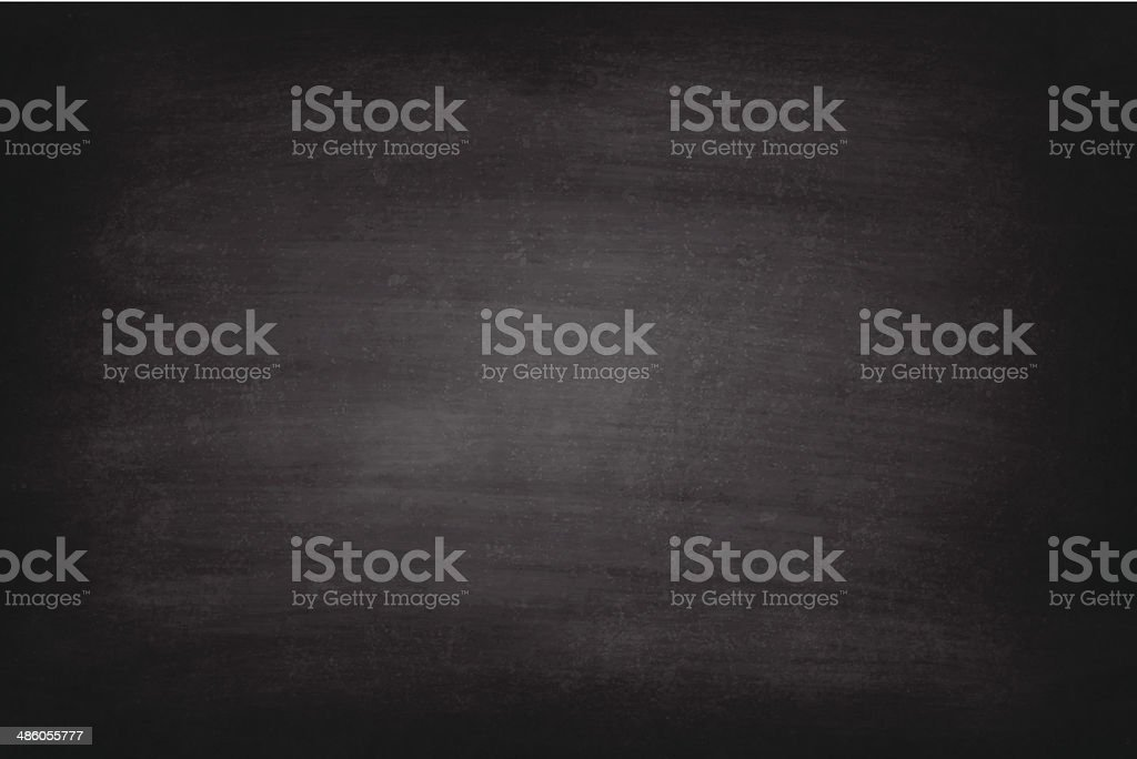 Vector of rough black chalkboard background vector art illustration