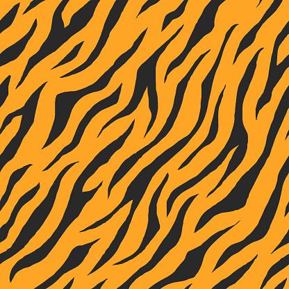 Vector of seamless animal print pattern