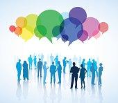 Vector of Social Communications