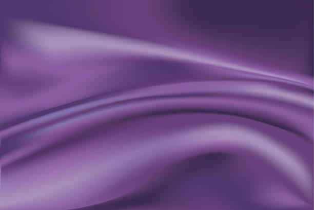 vektor violetter seide stoff hintergrund - plüsch stock-grafiken, -clipart, -cartoons und -symbole