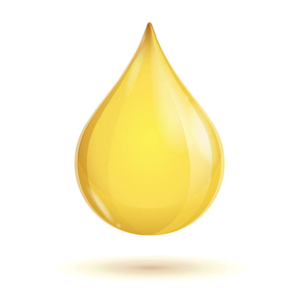 stockillustraties, clipart, cartoons en iconen met vector oil transparent drop - oil