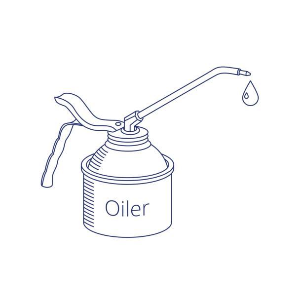 Vektor-Öler-Symbol. – Vektorgrafik