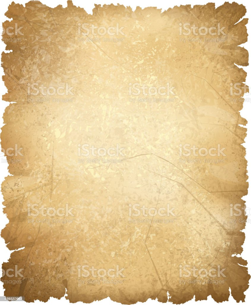 Vector Old Paper Texture Stock Illustration - Download Image Now - iStock