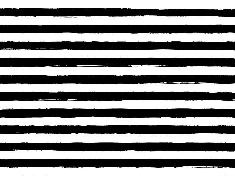 Vector old striped ragged brush print